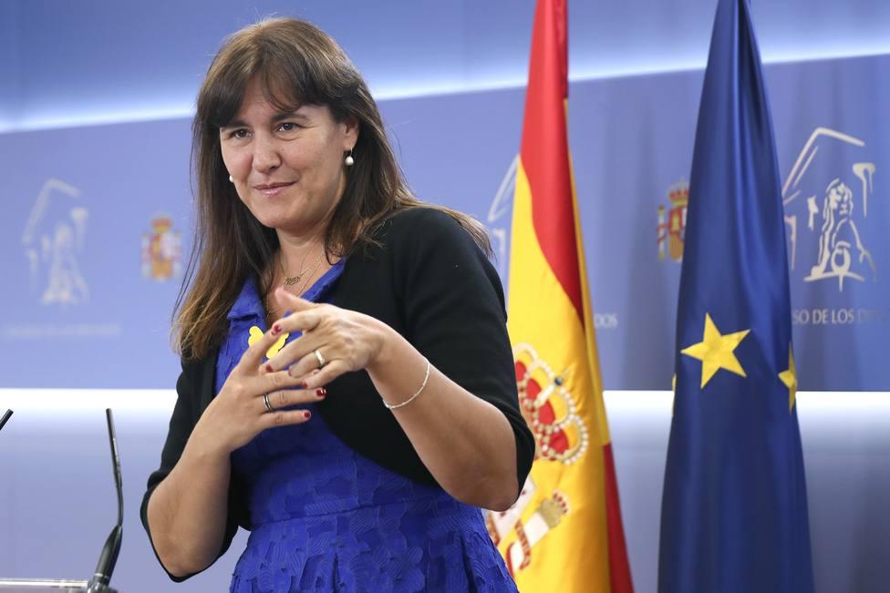 Laura Borràs se defiende en el Congreso: Es una persecución política sin indicios de delito