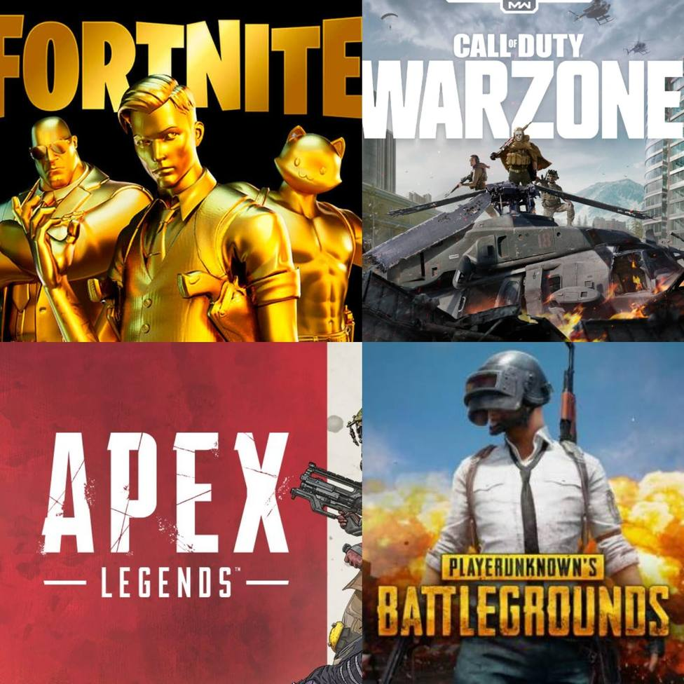 ¿Cuál es el mejor Battle Royal? Estos son los 5 más jugados en la actualidad