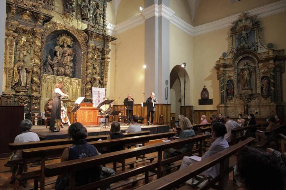 Actuación en Festival Camino de Santiago