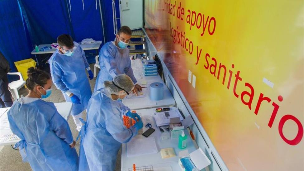 Pruebas PCR en Laviana