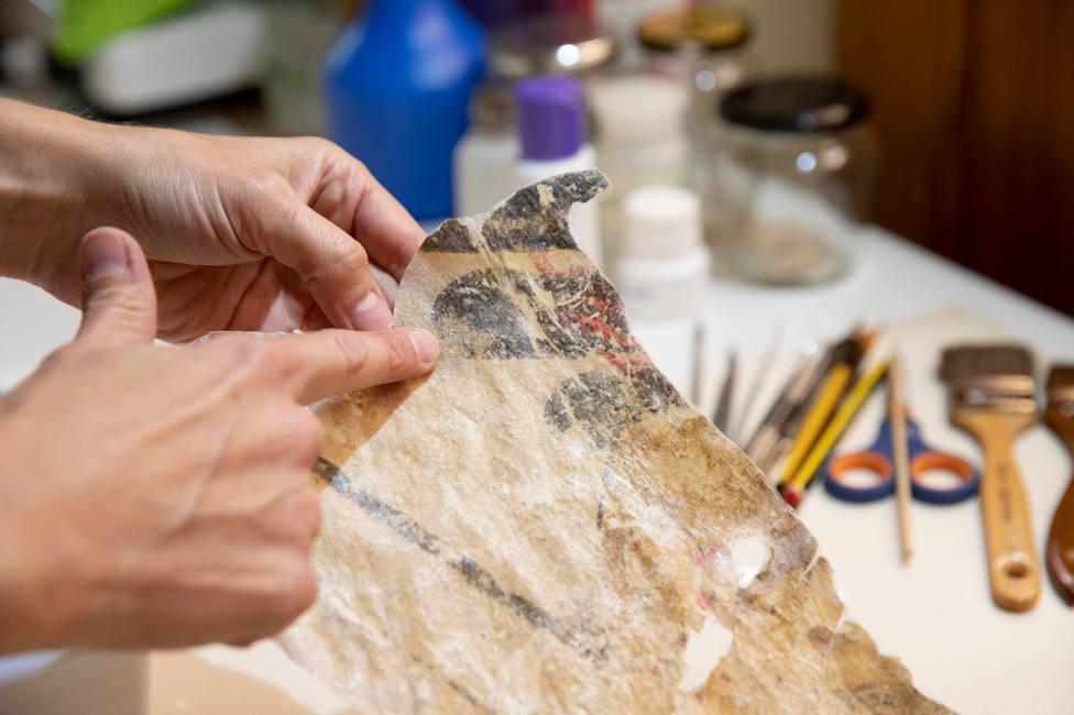 pintura maristan granada alhambra