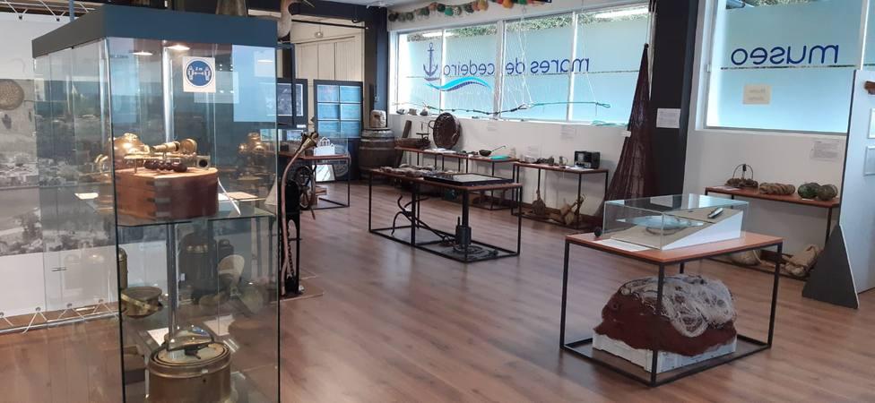 Interior del Museo Mares de Cedeira