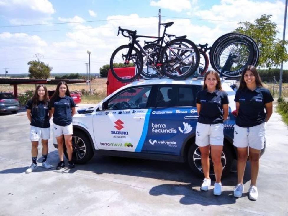 El bloque de féminas de Valverde Team Terra Fecundis doblará efectivos para la nueva temporada