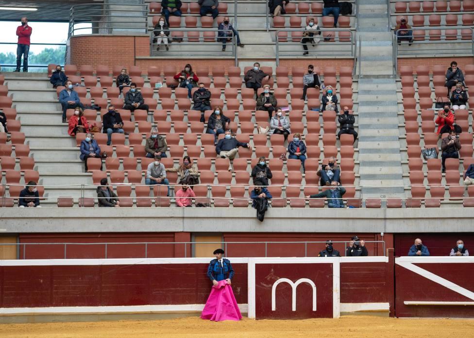 Dos corridas en la plaza de toros de Logroño cierran este fin de semana la temporada taurina 2020