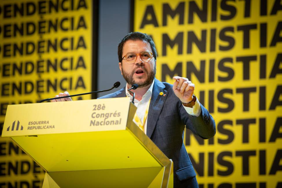 Aragonès será el candidato de ERC a la Generalitat tras no presentarse más candidaturas