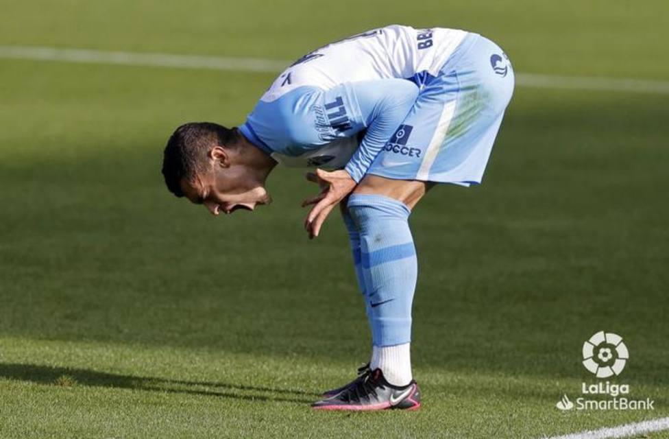Rahmani se lamenta tras una clara ocasión de gol.