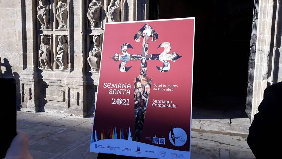 La Semana Santa de Santiago ya tiene cartel para este 2021