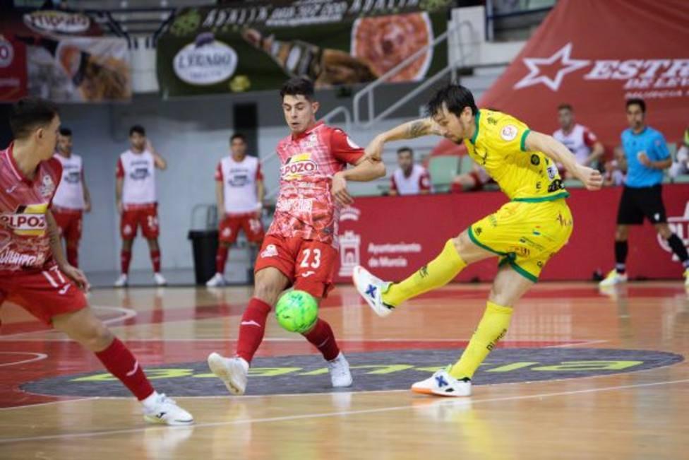 ElPozo Murcia Costa Cálida sigue su escalada ante Jaén (3-0)
