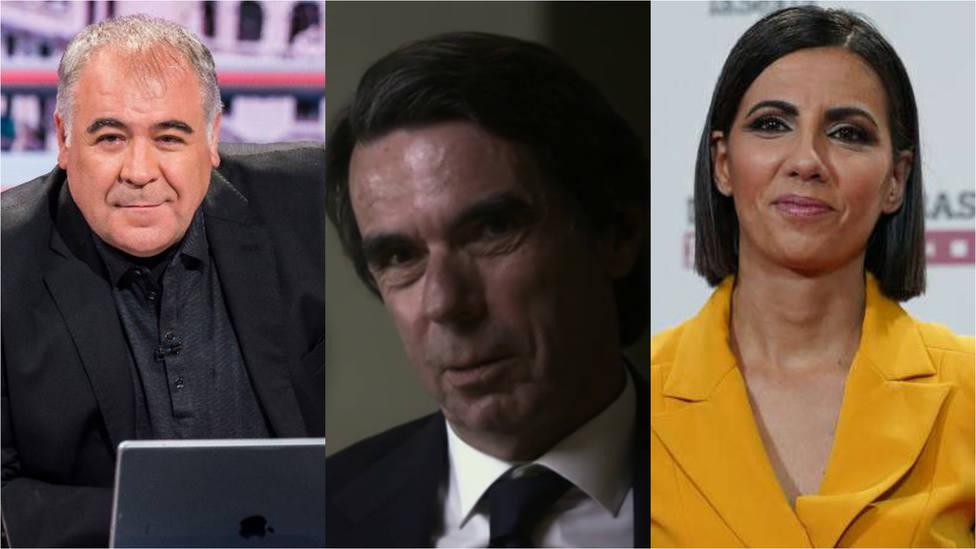 Ana Pastor sale en defensa de Ferreras por las palabras de Aznar sobre el 11M: Menos mal