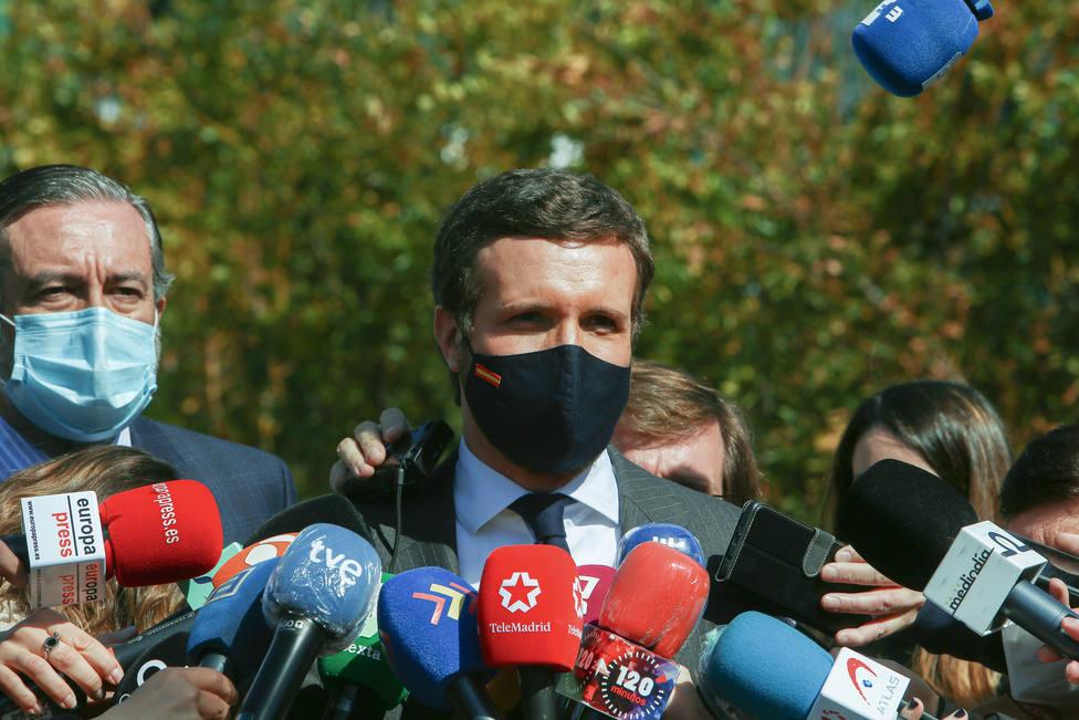 Casado, tras frenar el PP la moción de censura: Murcia seguirá teniendo un Gobierno que defienda la libertad