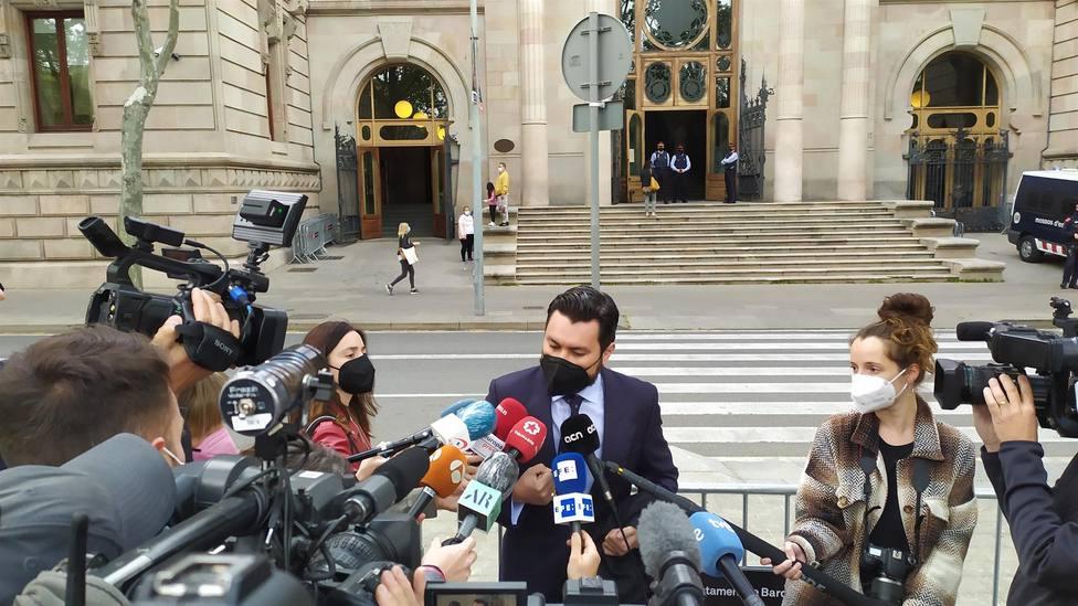 El abogado de la víctima de la violación múltiple Jorge Albertini - Europa Press