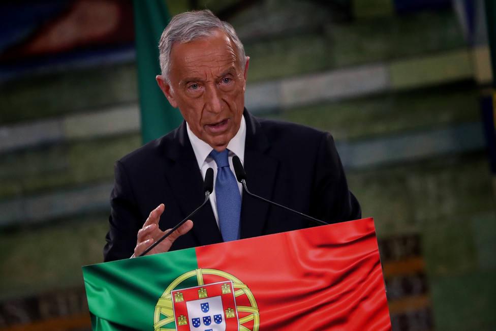 El presidente de Portugal vislumbra el fin del estado de emergencia y cree que abril es el mes decisivo