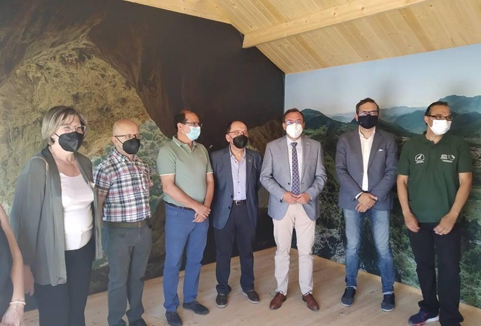 La Diputación colabora en la puesta en marcha el Aula del Geoparque de la Vía Verde del Aceite