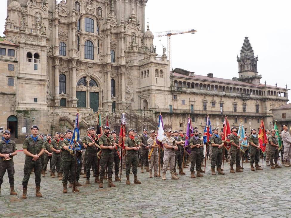La BRILAT llega a Santiago, después de un nuevo concurso de patrullas