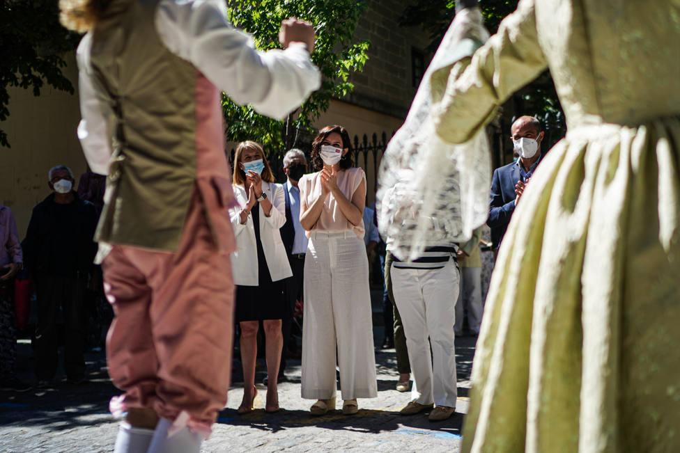 Díaz Ayuso presenta el I Festival Internacional de Verano de El Escorial   FOTO: Comunidad de Madrid