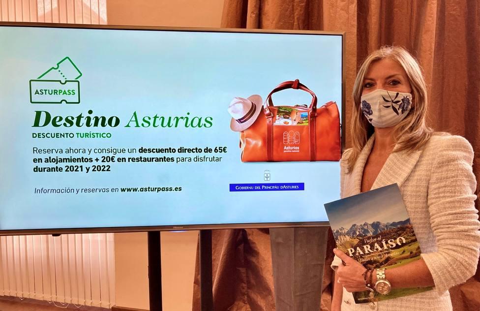 La viceconsejera de Turismo, Graciela Blanco, confía en que la segunda edición de Asturpass tenga éxito