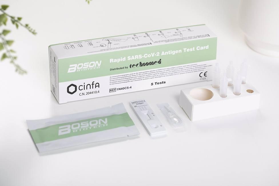 Cvirus.- El BOE publica el real decreto que permite la venta de test de antígenos en farmacias sin receta