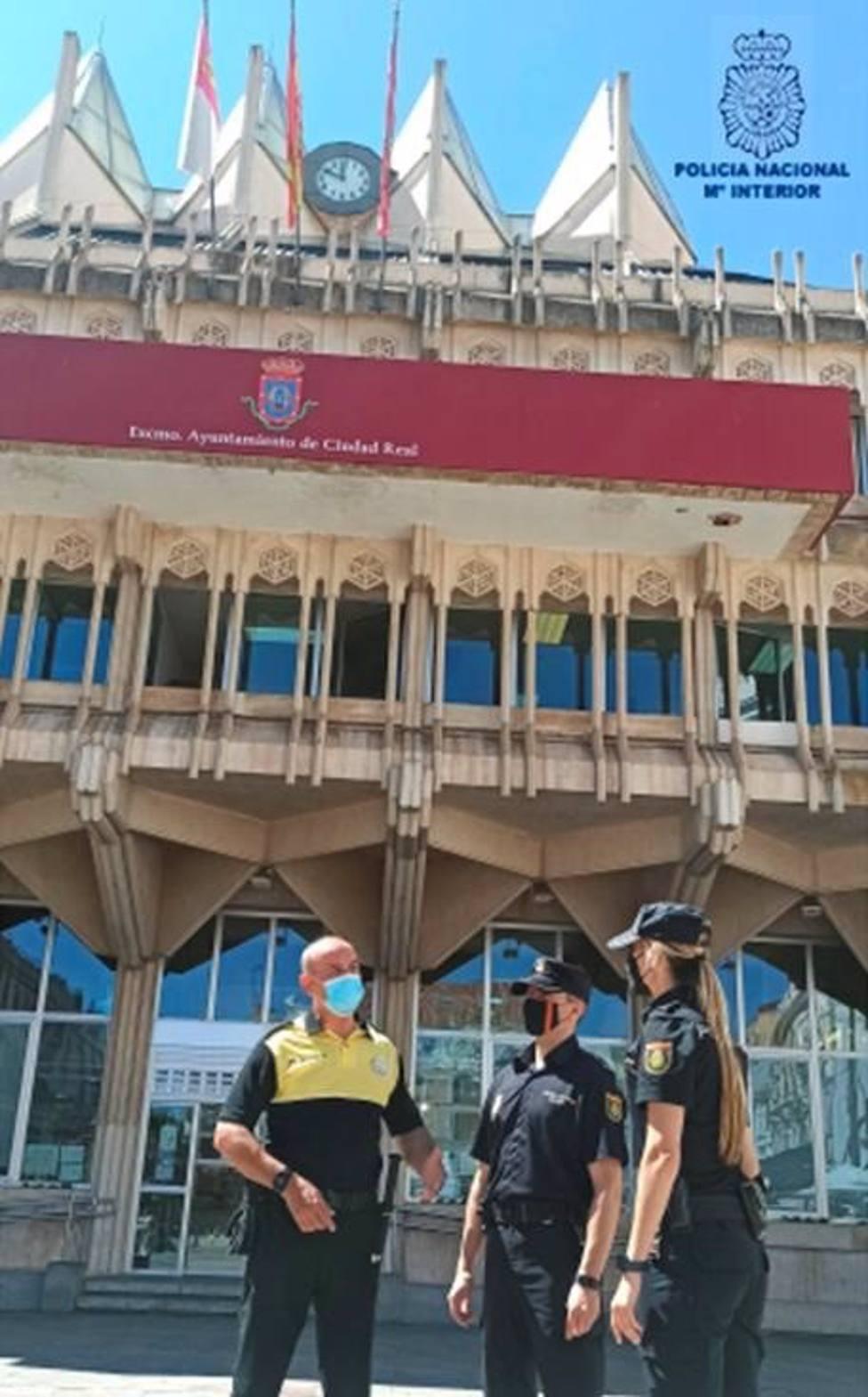 La Policía Nacional de Ciudad Real