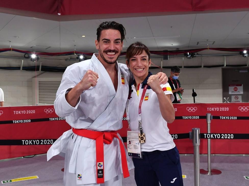 Sandra Sánchez y Damián Quintero