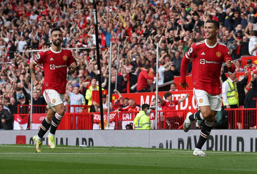 Cristiano Ronaldo vuelve a marcar con el Manchester United