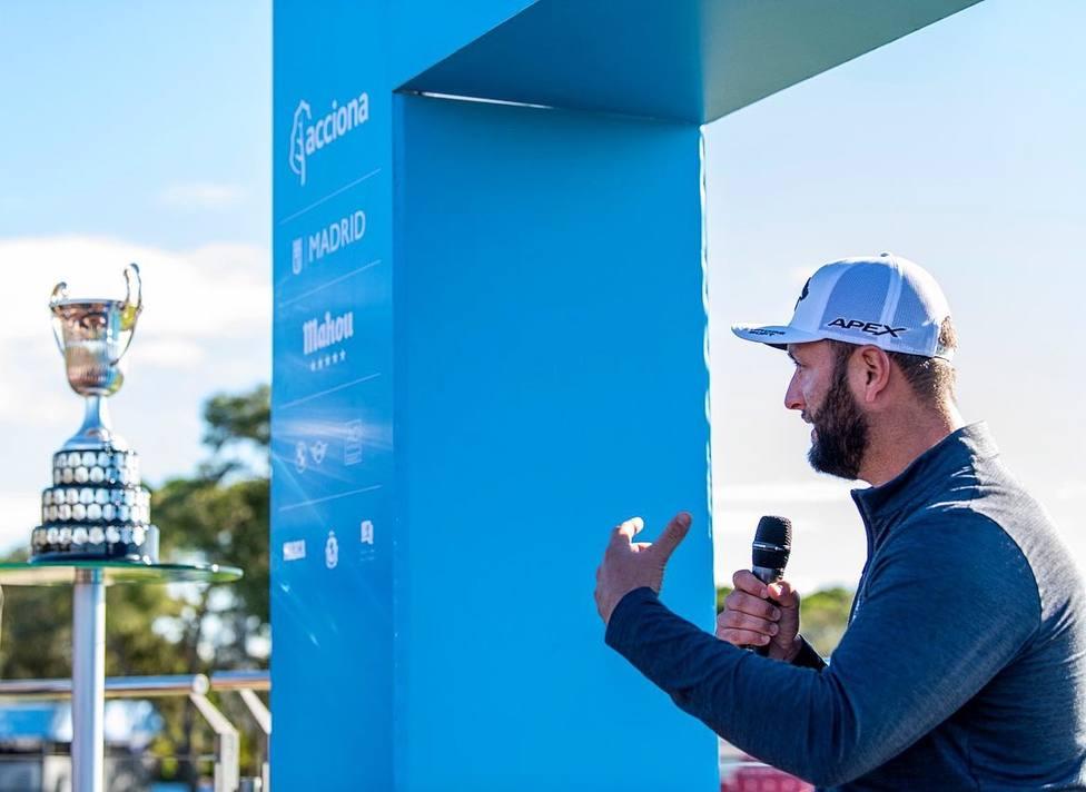 """Rahm: """"Ojalá pueda ser un gran referente como Rafa Nadal"""" - Golf - COPE"""