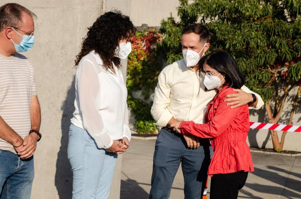 El Cabildo de La Palma permite la entrada de los vecinos evacuados para recoger ropa