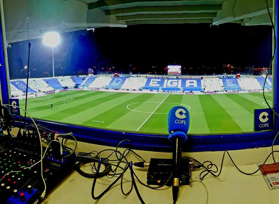 Imagen del estadio de Butarque, en Leganés