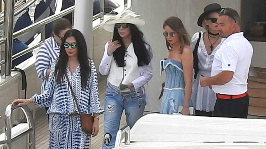 Cher en Ibiza