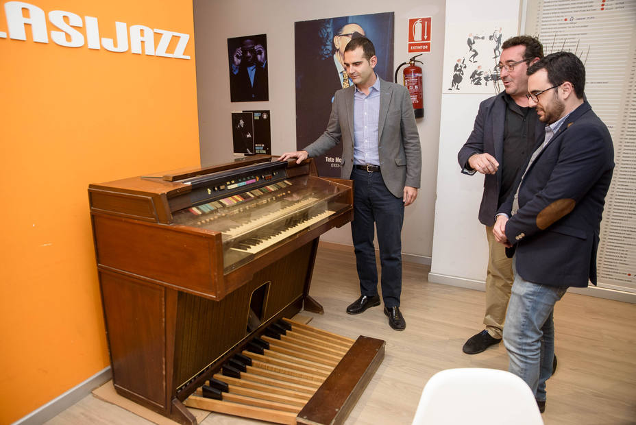 Alcalde visita Clasijazz/foto Ayto
