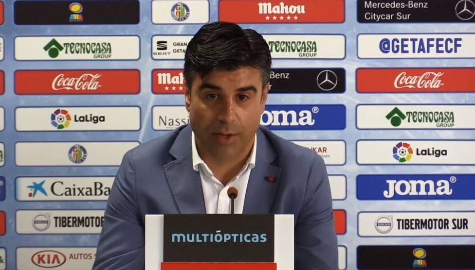 El Getafe prescinde de su director deportivo Nico Rodríguez
