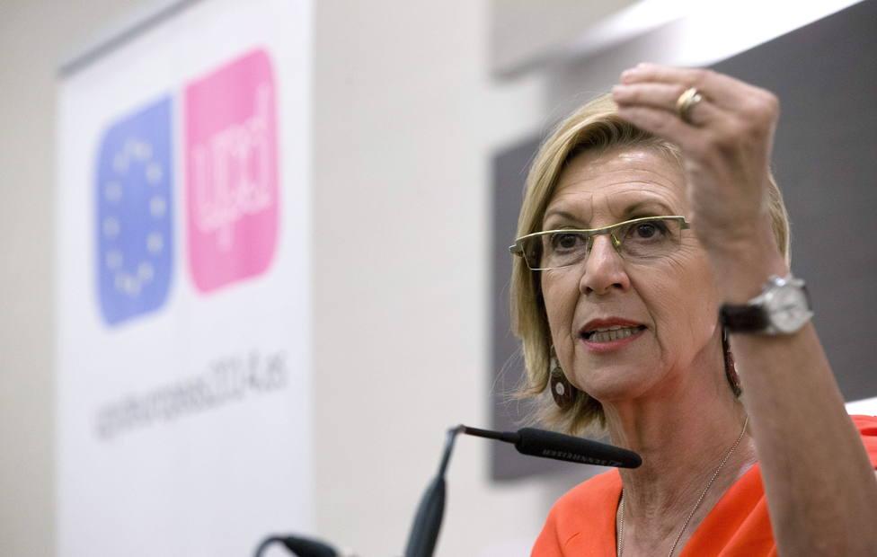 Rosa Díez tumba a PNV, proetarras y Marlaska en una sola frase