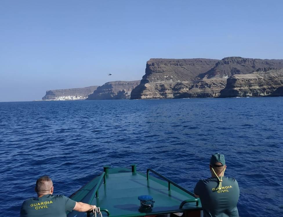 Dispositivo de Búsqueda en la costa del sur de Gran Canaria