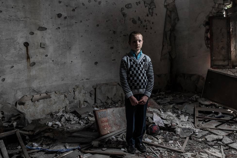 UNICEF denuncia que los ataques contra escuelas en el este de Ucrania se han cuadruplicado este año