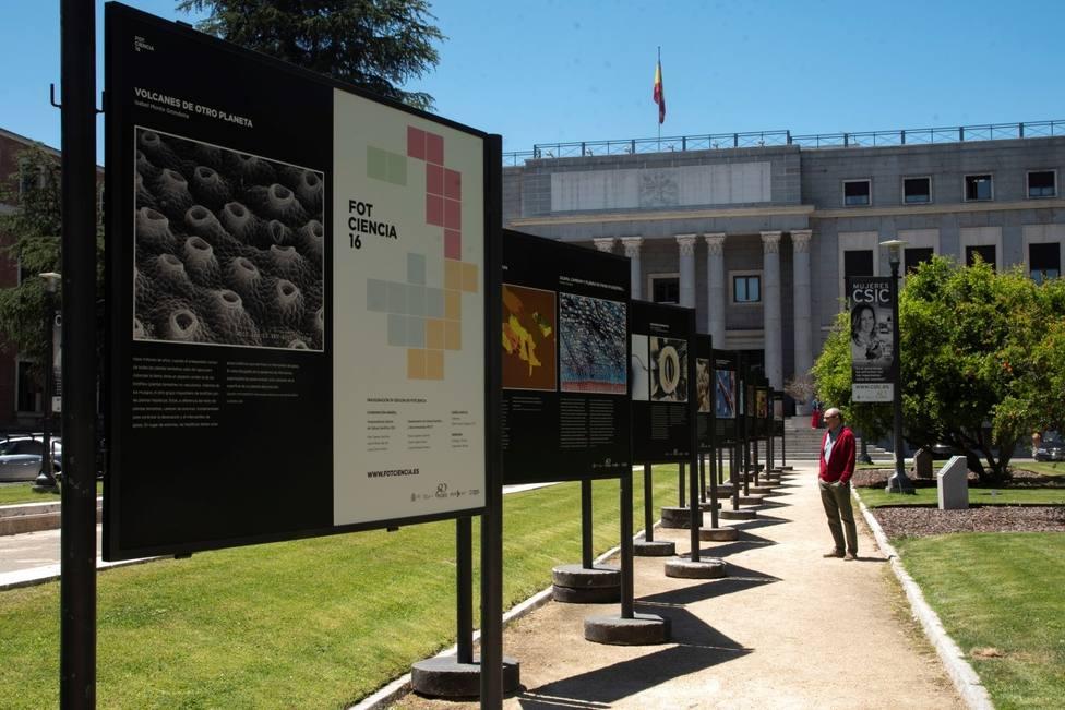 CSIC y FECYT inaugurarán mañana una exposición itinerante al aire libre con las mejores imágenes científicas de 2018