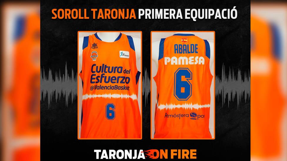 Soroll Taronja es la colección de nuevas equipaciones del Valencia Basket