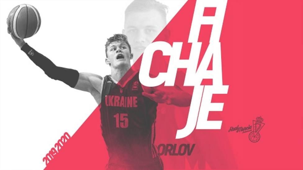 Real Murcia Baloncesto refuerza la pintura con el hispano ucraniano Vladimir Orlov