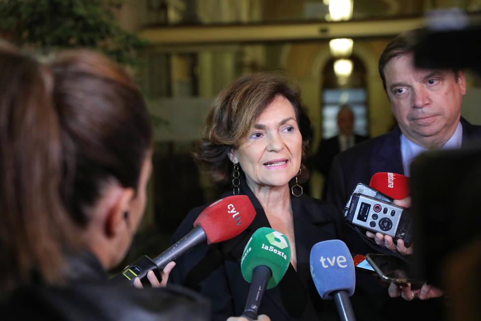 Calvo defiende que Sánchez no conteste a Torra: Hay que respetar lo poco respetuoso que ha sido con los catalanes