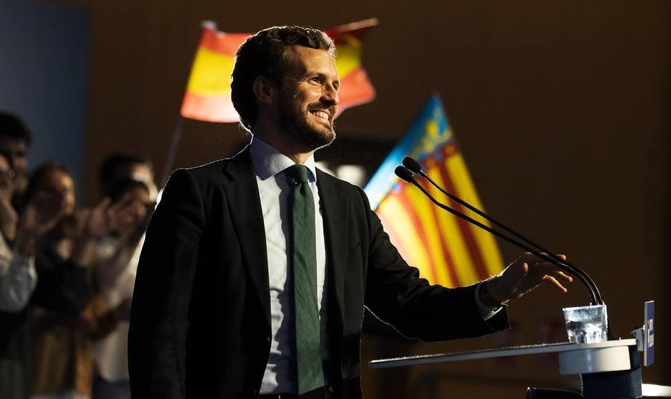 Casado avisa a Sánchez que será responsable si los catalanes no pueden votar con normalidad: Está siendo cómplice