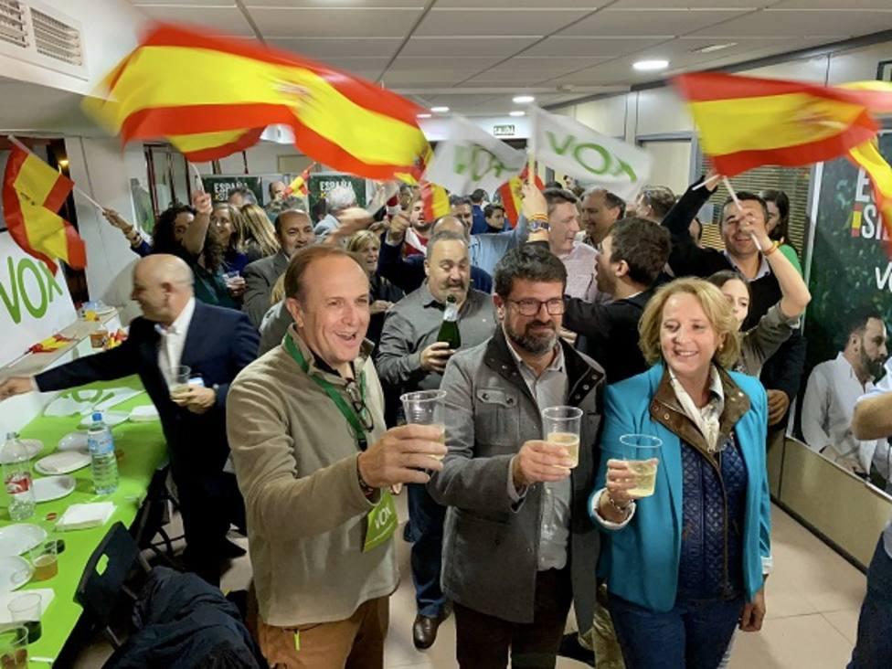 VOX pasa a ser fuerza política más votada en la Región de Murcia aunque empata a escaños con PP y PSOe