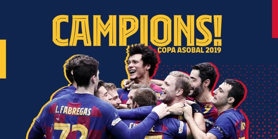 Novena Copa Asobal consecutiva para el Barça