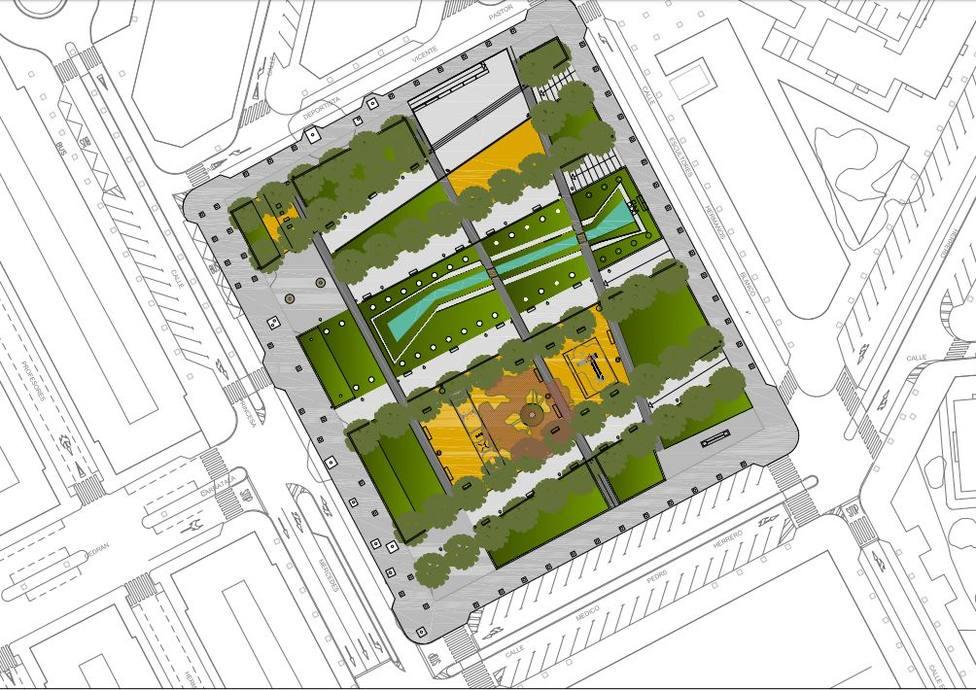 Proyecto de Urbanización de la Plaza de la Ciudad de la Justicia (Ayuntamiento)