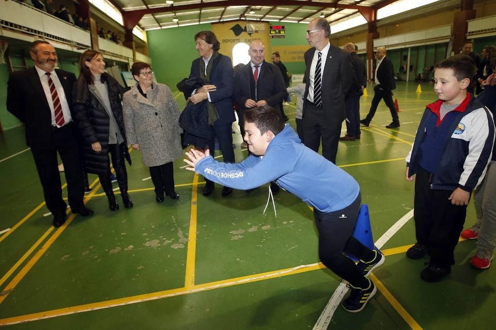 Sanidade, Educación y Deporte se alían en Friol para luchar contra la obesidad infantil en Galicia