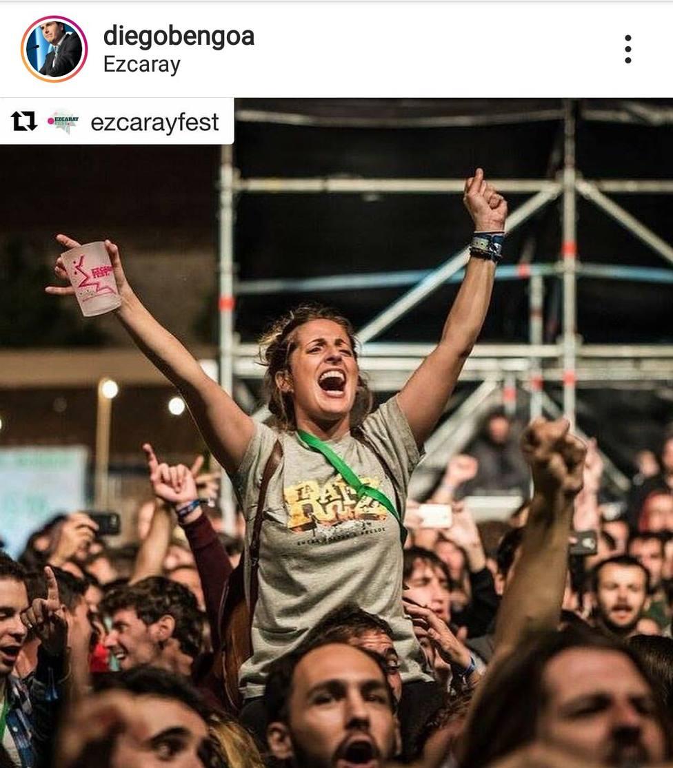 Al exalcalde de Ezcaray, Diego Bengoa, le entristece muchísimo que Ezcaray pierda su festival de música
