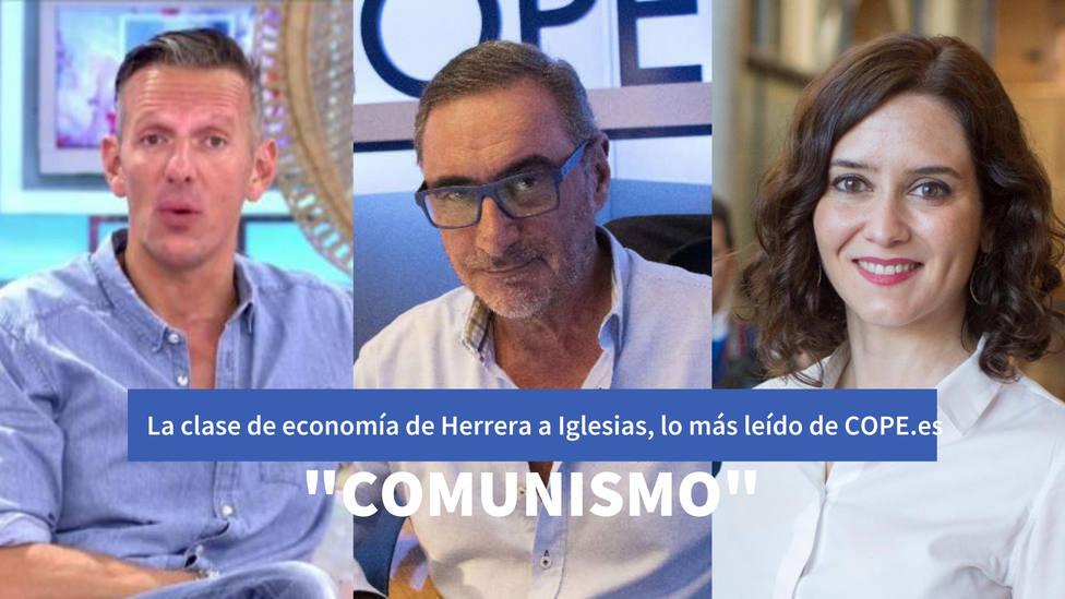 La clase de economía de Herrera a Iglesias, entre lo más leído de este jueves