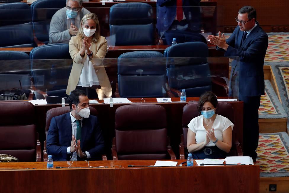 Aguado descarta una moción de censura contra Ayuso: No es momento de juegos de sillas