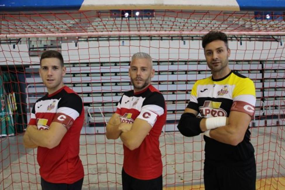 Miguelín, Fernando y Juanjo serán los capitanes en la temporada 2020/2021