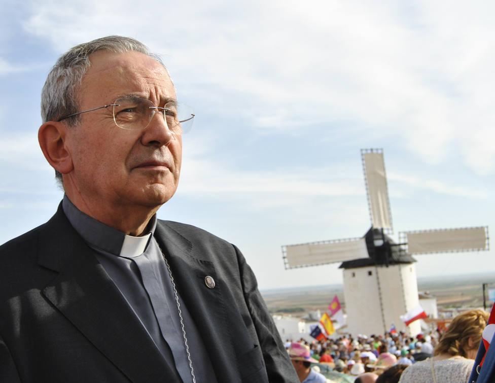 Don Antonio Algora, obispo emérito de Ciudad Real