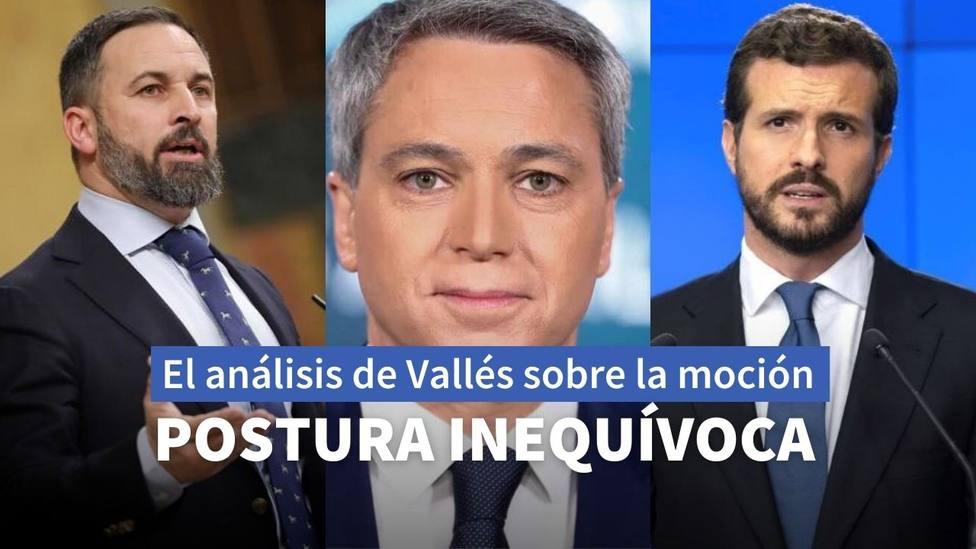 Vicente Vallés da las claves de la relación entre Abascal y Casado después de la moción de censura