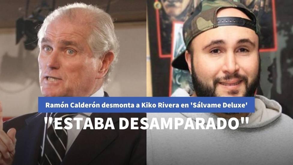 Ramón Calderón pone en su sitio a Kiko Rivera y desmonta sus argumentos en 'Sálvame Delxue'