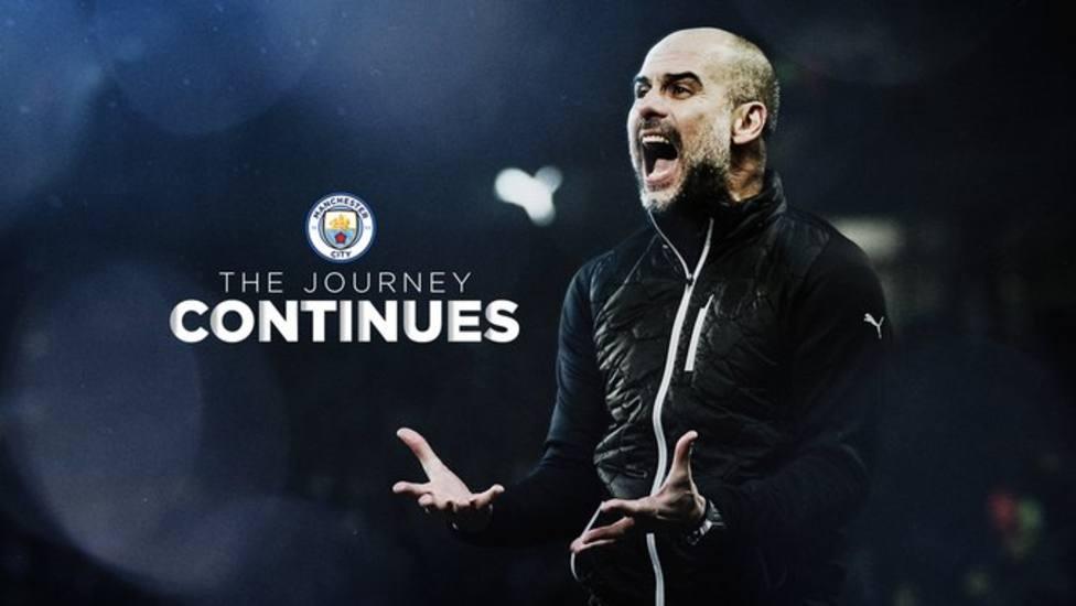 Pep Guardiola renueva dos años con el Manchester City